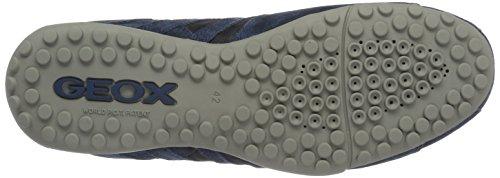 Geox Uomo Snake H, Sneakers Basses Homme Bleu (Navyc4002)