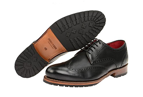 Gordon & Bros, Scarpe stringate uomo Black - Black