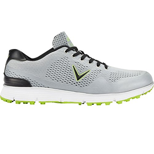 Callaway Chev vent chaussures de golf, homme, gris (Grey/Lime), 41EU
