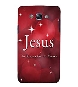 printtech Cool Quotes God Jesus Back Case Cover for Samsung Galaxy J7 (2016 EDITION)