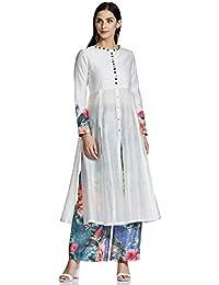 AL - Indian Luxury Women's Silk Anarkali Salwar Suit Set
