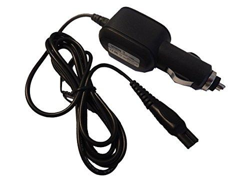 Preisvergleich Produktbild vhbw Kfz-Netzteil Ladegerät -kabel für Philips AT751/16, AT752/20, AT753/20, AT890/16, AT890/17, AT890/20, AT890/41, AT891/14, AT891/16, AT893/20 etc.
