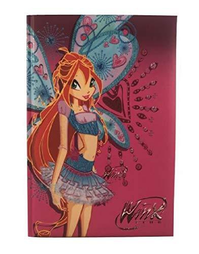 Diario scuola 10 mesi winx - prodotto ufficiale - dimensioni 15 x 20 cm (bloom)