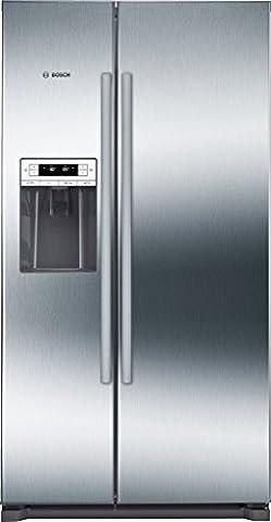 Bosch KAD90VI30 frigo américain - frigos américains (Autonome, Acier inoxydable,