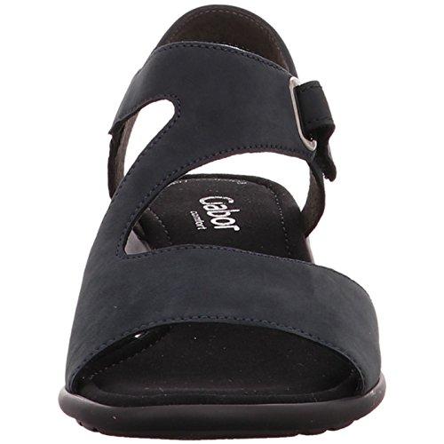 Gabor comfort Sandales 46.063.46 Bleu - d'blau