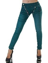 Diva-Jeans - Vaqueros - Boyfriend - Básico - para Mujer e5dc856c122