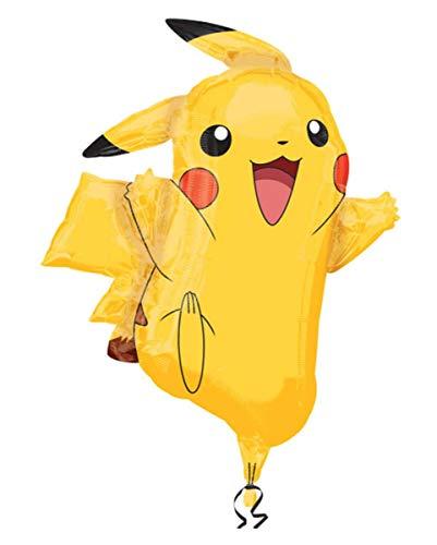 Horror-Shop Pikachu Folienballon als Pokemon Fanartikel