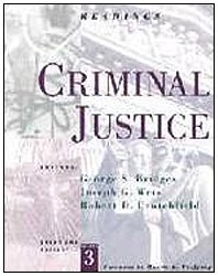Criminal Justice: Readings (Sociology for a New Century) by George S. Bridges (1996-02-22)