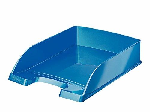 Leitz Bandeja portadocumentos WOW, A4, Azul metalizado, 52263036