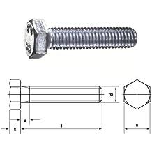 DIN933 PROFI 6kt VGW G70 A2 EDS M12 x 140 2 Stck DIN 933 // ISO 4017 PROFI Sechskant Schraube Vollgewinde G/üte 70 V2A Edelstahl rostfrei