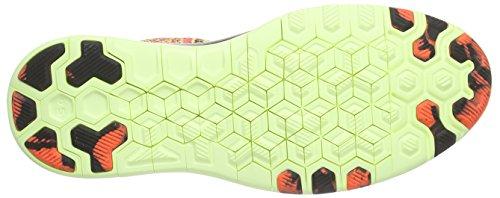 Nike Free Tr 5 Flyknit, Chaussures de course femme Orange - Orange (Hyper Orange/Barely Volt/Black)