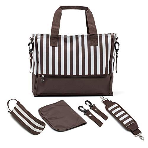 Fringe Welle Punkt Multi-funktion Und Große Kapazität Baby Und Mutter Tasche 5-teiliges Set, baby Ändern Tasche Multi Fringe
