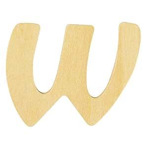 Rayher 6195200 Holz-Buchstabe, 6cm, W - wurde ersetzt durch: 62259000