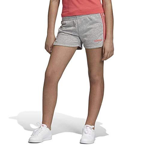 Performance-baumwolle Kurze (adidas Performance Essentials 3S Trainingsshort Kinder grau/korall, 128)