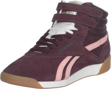 Reebok F/S Hi Suede II W chaussures Red/Pink/ Cream