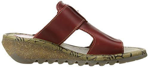 Sandali Tute London Donna Red Rosso Fly PYqBwx
