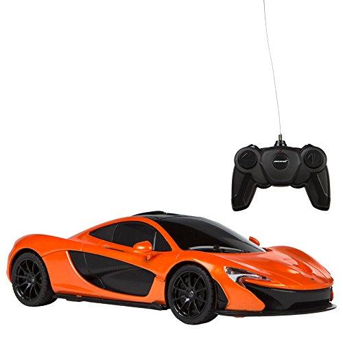 5ad38d457 Rastar - Coche teledirigido 1:24 McLaren P1, color naranja, 1 (Baby