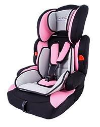 Kinderautositz Autokindersitz 9-36 kg Autositz ROSA oder ROT Kindersitz Gruppe 1 2 3 Farbwahl NEU (KP0024)