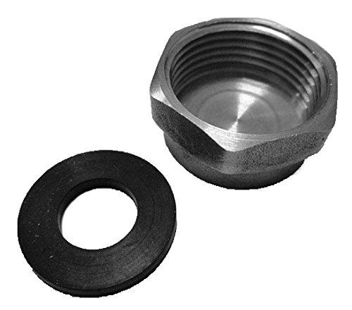 Spares2go inch Blanking Caps et rondelles de tuyau de vidange universel pour machines à laver et lave-vaisselle (lot de 10)