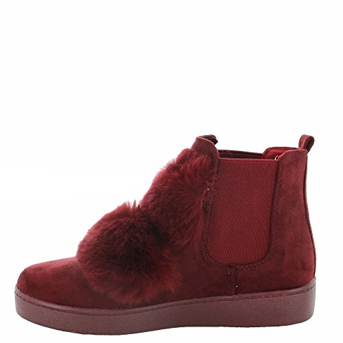 Ideal Shoes ,  Stivali donna Rosso