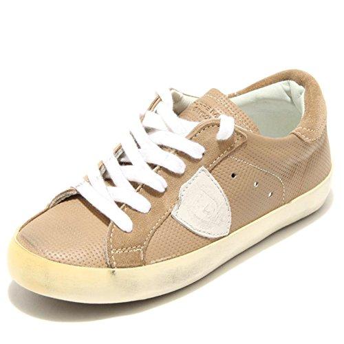 1356G sneaker tortora PHILIPPE MODEL GARCONS MICROFORATA scarpa bimbo bimba shoe [33]