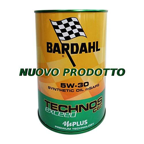 Olio motore auto Bardahl Technos C60 Exceed 5W30 ACEA C3 / MB 229.51-4 Litri
