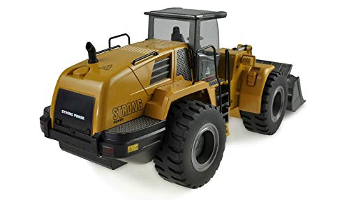 RC Auto kaufen Spielzeug Bild 2: Amewi 22343 Radlader 1:14, RTR, 10-Kanal, Ocker*