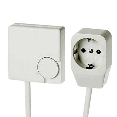 Eberle RTR-E 3311 Raumtemperaturregler mit 1,8 m Kabel und Stecker 16 A für Elektroheizung von Eberle auf Lampenhans.de