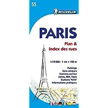 Plan de Paris avec index des rues