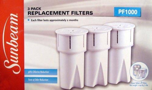 Sunbeam P1000Ersatz Wasser Filter (3Pack) (Sunbeam Wasser)