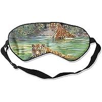 Sleep Eye Mask Tiger Donald River Lightweight Soft Blindfold Adjustable Head Strap Eyeshade Travel Eyepatch E7 preisvergleich bei billige-tabletten.eu