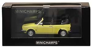 Minichamps - 400055130 - Véhicule Miniature - Modèle À L'échelle - Volkswagen Golf Cabriolet 1980 - Echelle 1/43
