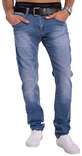 Hommes Jeans Tapered Fit KEITH Nr.1536 Blau