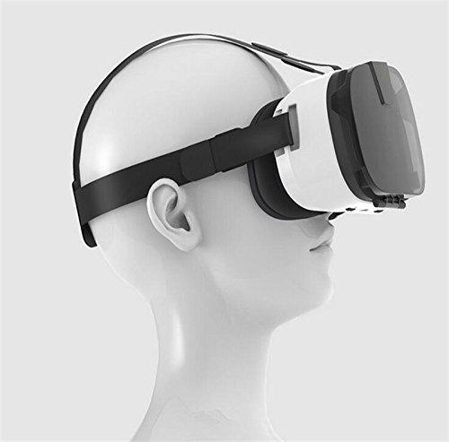 3D-VR-Headset Brille, YSSHUI FIIT Virtual Reality Handy 3D-Filme Spiele mit Harz-Objektiv für 4,0-6,0 Inch Handys