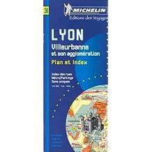 Plan de ville : Lyon, Villeurbanne, 1:10 000