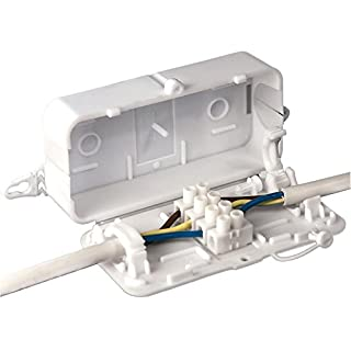 IN-LINE CONNECTOR BOX, 102X55X29MM DEBOX By HYLEC