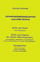 Erfahrungswissenschaften Contra Philosophie