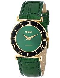 Jowissa J2.045.M - Reloj para mujeres, correa de cuero color verde