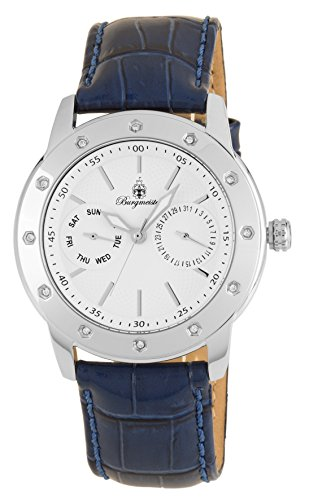 Burgmeister Women's Analogue Quartz Watch with Leather Strap BM807-183