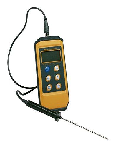 Hendi 271407 Digitales Thermometer mit Stiftsonde, kunststoff, 19,5 x 8,5 x 4,5 cm, mehrfarbig
