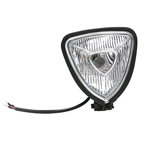 ONEVER Voiture LED feu stop Triangle arri/¨/¨re Feu arri/¨/¨re F1 Style de Strobe Lampe inverse Modification Voyant DRL 12V