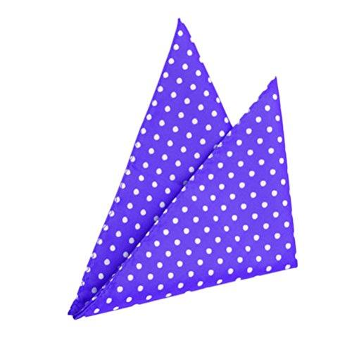 Zhhlinyuan haute qualité 4pcs Soft Mens Pocket Square Handkerchiefs Towel Perfect Gift 1586-1