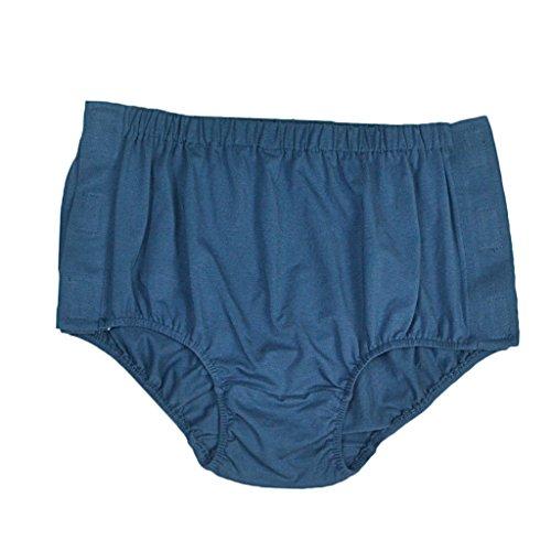 (Sharplace Erwachsenenwindel Bei Inkontinenz Baumwolle Windelhosen Waschbar Farbe: Blau - XL)