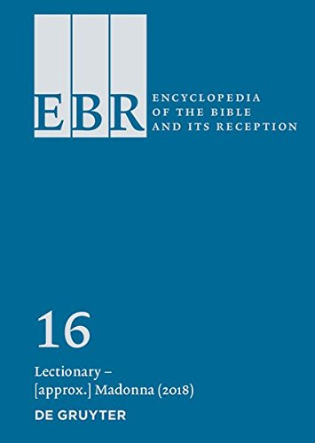 Encyclopedia of the Bible and Its Reception (EBR) / Lectionary – Lots
