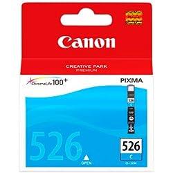 Canon CLI-526 Cartouche C Cyan (Emballage carton)