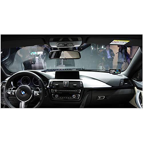 Hengyuanyi Auto-Detektor, Parktronic, 4 Sensoren, Radar-Detektor, Smart Dual-Core, Parktronic für Auto Rückfahrradar Rückfahrsensor