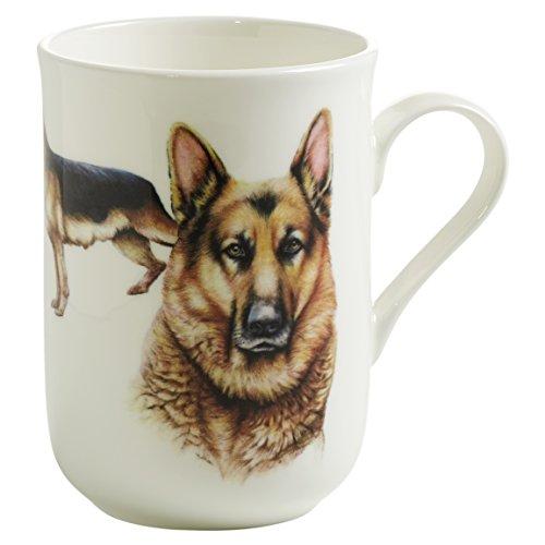 Maxwell & Williams pb0703 Pets Tasse Berger Allemand Chien, boîte cadeau, Porcelaine, Marron/Blanc