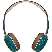 Skullcandy Grind Wireless On-Ear, Auriculares inalámbrico, Bluetooth, Azul/Marrón