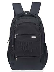 COSMUS Polyester 29 Ltr Black Laptop Backpack