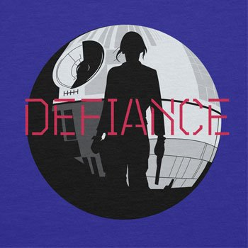 NERDO - Jyn Defiance - Herren T-Shirt Marine